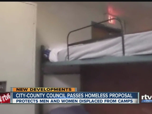 City-County Council passes proposal aimed at protecting homeless people