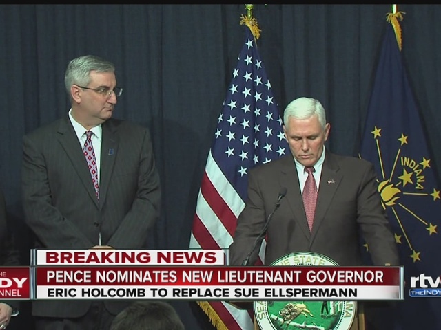Governor Pence selects new Lieutenant Governor