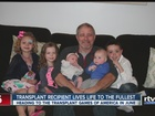 Transplant recipient: Life is precious