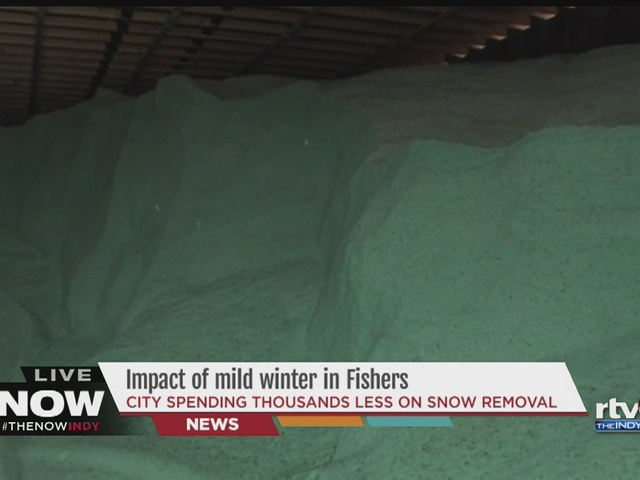 WATCH | Little snow, lots of salt: Fishers cleans up on budgeting and…
