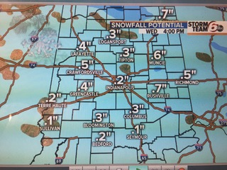 Next 24 Hours: Snow leaves, but cold air stays