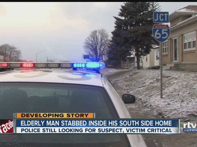 77-year-old man stabbed in home on south side