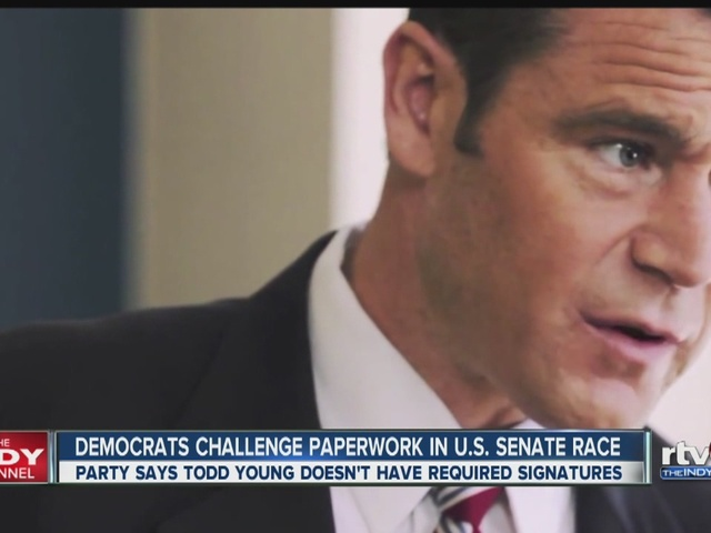 Democrats challenge paperwork in U.S. Senate race