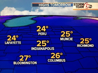 Overnight: Wind Chills zero to 8 below!