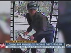 Man looking for answers after package theft