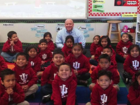 Man pledges $1M to put kindergartners in college