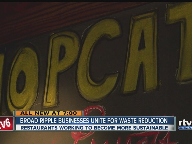 Broad Ripple restaurants team up to reduce waste