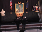 Tribute held for Gov. Edgar Whitcomb