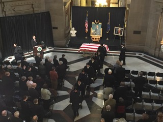 PHOTOS: Memorial for former Governor Whitcomb