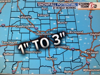 Valentine's Day brings accumulating snow