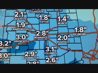 ALERT: Light snow adds up on Valentine's Day