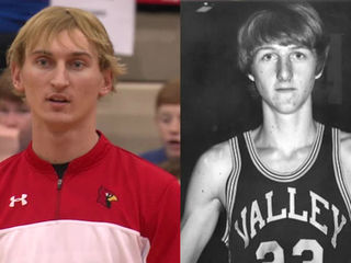 Southport junior looks like Larry Bird