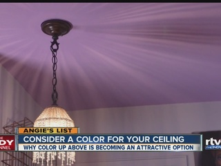 Angie's List: Consider a color for your ceiling