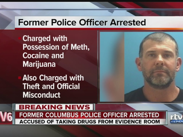 Former Columbus PD narcotics supervisor accused of stealing drugs TheIndyCh
