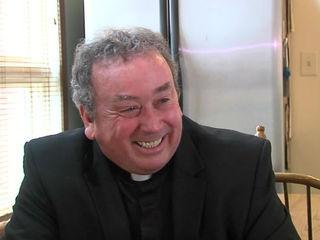 Father Glenn O'Connor plants Seeds of Hope