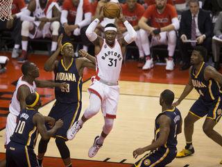 Raptors tie up series 1-1 with win over Pacers