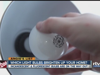 Angie's List: Replacing aging light bulbs
