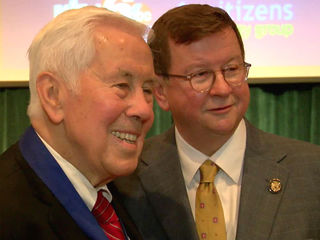 Richard Lugar honored for lifetime achievement