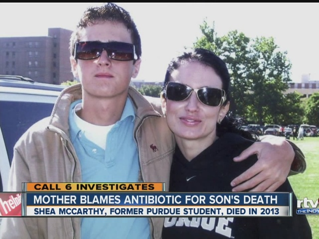 CALL 6: Mother blames antibiotic for son's death