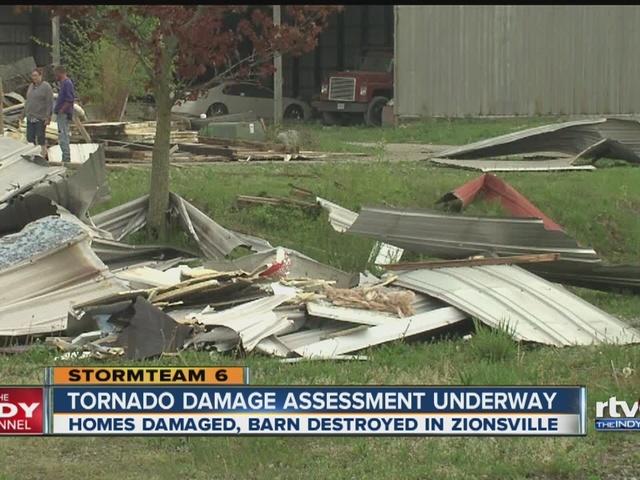Tornado damage assessment underway