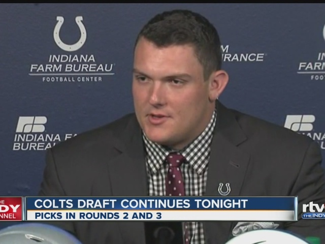 Ryan Kelly joins the Indianapolis Colts