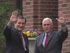 Gov. Pence endorses Ted Cruz