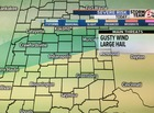ALERT: Slight Risk of severe storms this evening