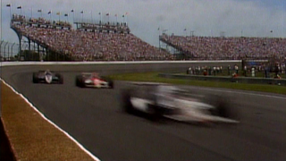 1989 Indy 500: Unser, Jr. and Fittipaldi duel