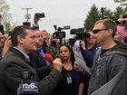 VIDEO: Cruz confronts Indiana Trump supporter