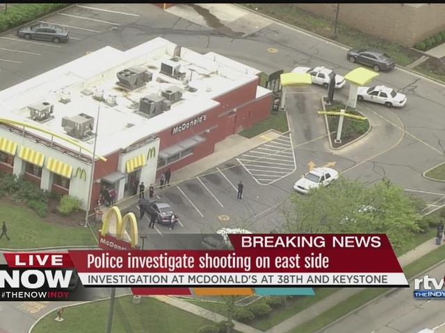 Person shot at McDonald's at 38th and Keystone