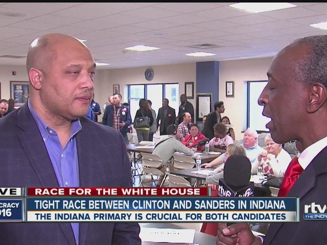 Congressman Andre Carson weighs in on presidential primary