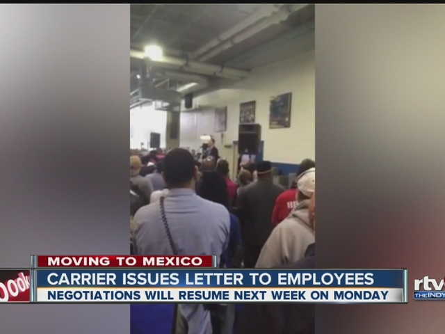 Carrier issues letter to employees