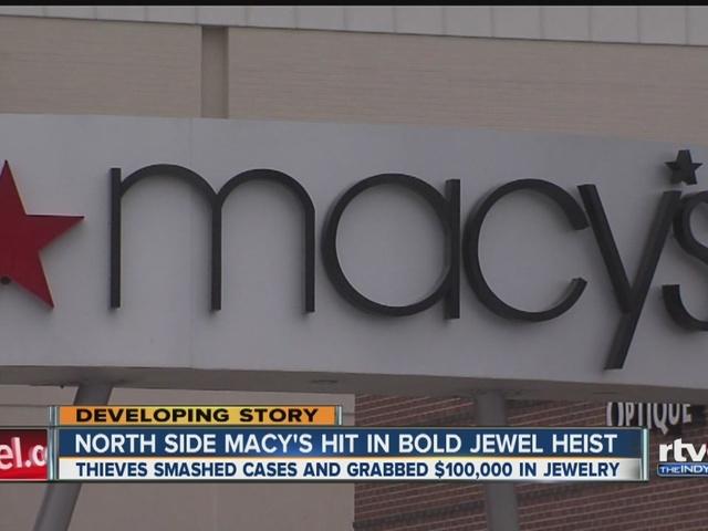 North side Macy's hit in bold jewel heist