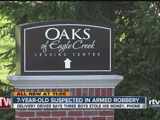 7-year-old suspected in armed robbery