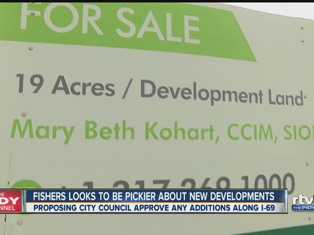 Fishers looks to be pickier about new developments