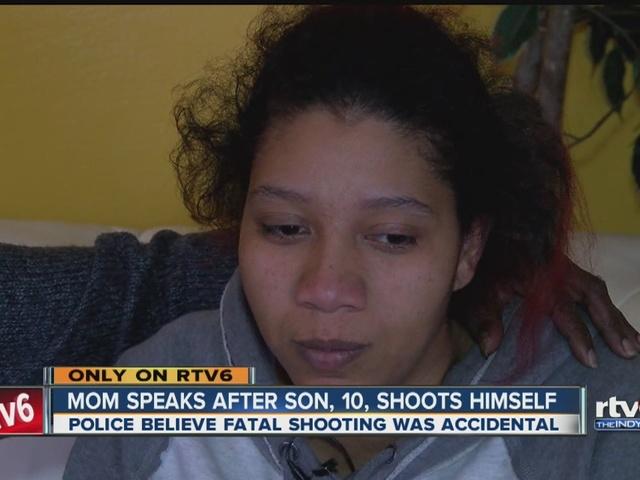 Mom speaks after son, 10, shoots himself