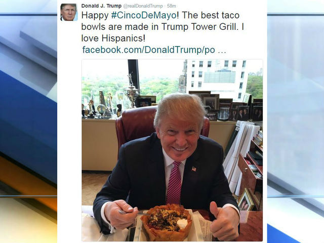 Trump's 'I love Hispanics' post draws fire