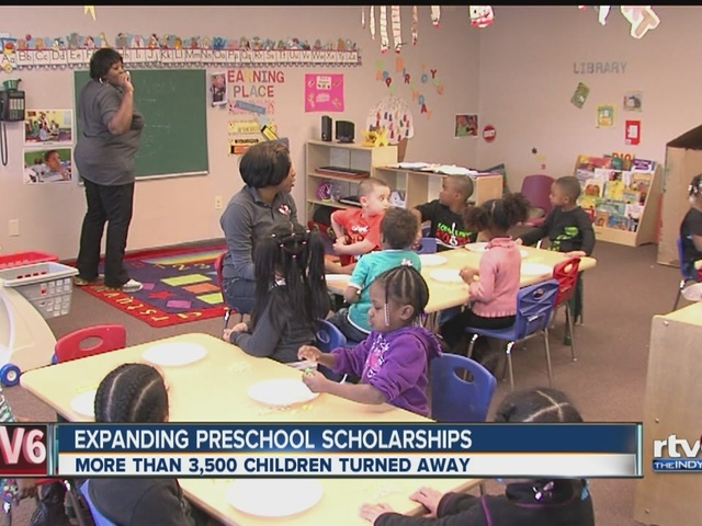 Expanding preschool scholarships