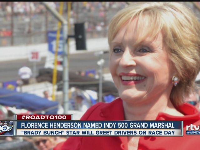 Florence Henderson to serve as Indy 500 Grand Marshal