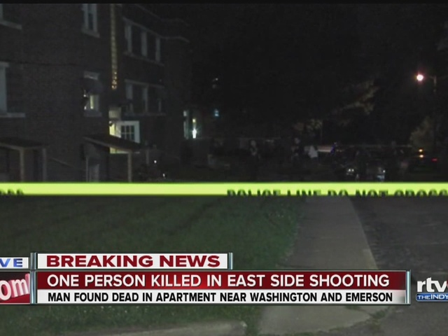 One person killed in east side shooting