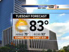 Going Up: Humidity & Rain chances next 24 hours