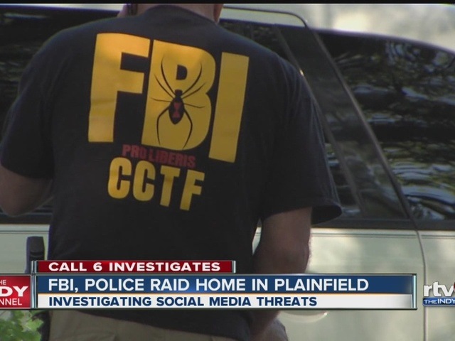 FBI, police raid home in Plainfield