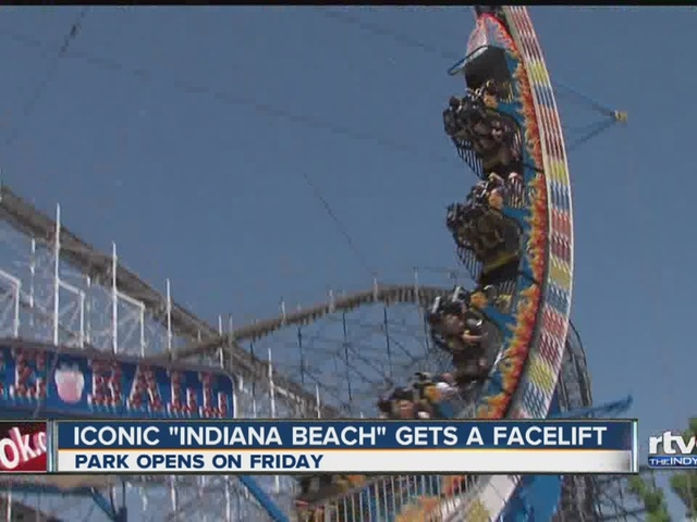 Indiana Beach gets a facelift