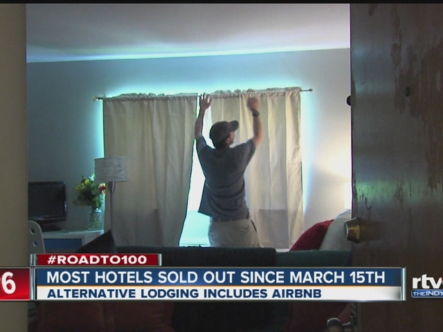 Most hotels in Indianapolis sold out for race since March