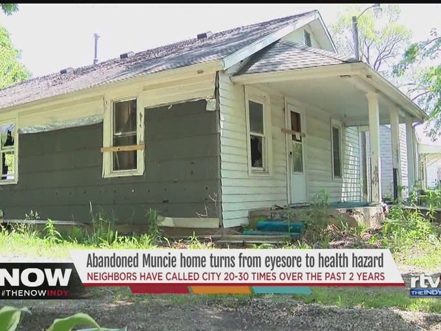 Muncie says it doesn't have money to board up abandoned homes