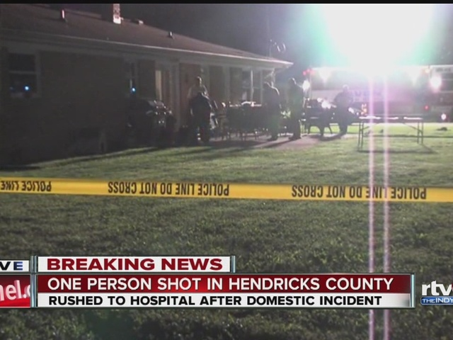 One person shot in Hendricks County