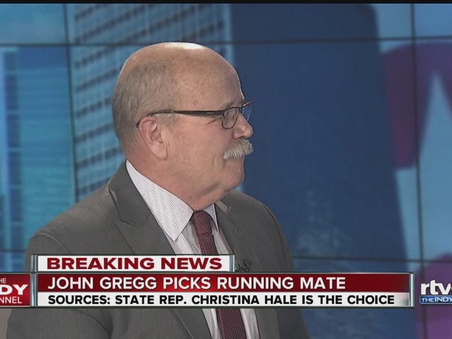 Sources say John Gregg will pick Christina Hale as running mate