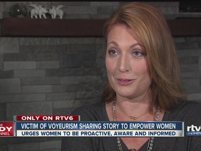Victim of voyeurism sharing story to empower women
