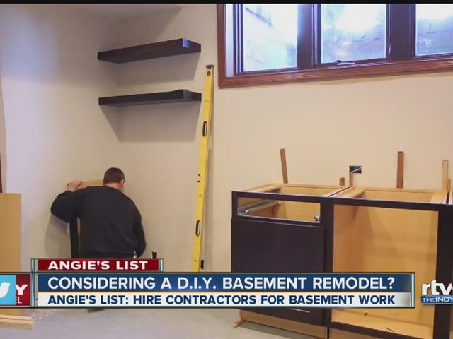 Considering a DIY basement remodel?