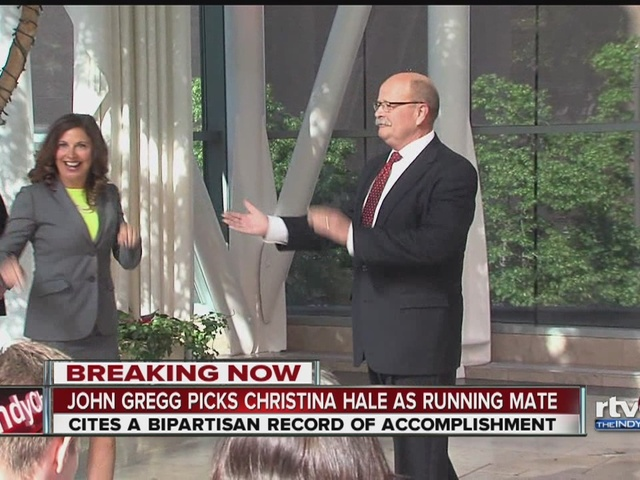 Gregg names State Rep. Christina Hale as running mate